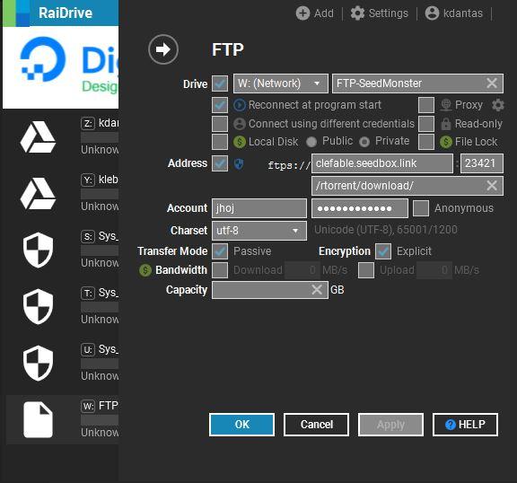 SeedMonster RaiDrive Working Setup